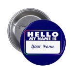 Name Tag Template Buttons