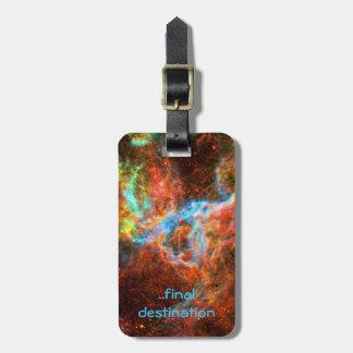 Name, Tarantula Nebula, Large Magellanic Cloud Luggage Tag