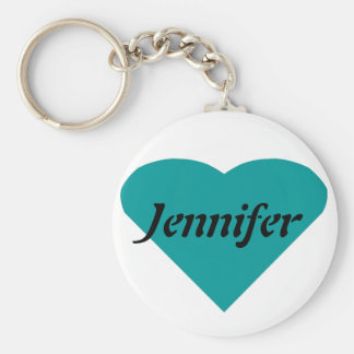 Name Template Basic Round Button Keychain