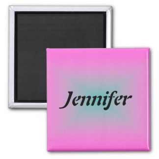 Name Template 2 Inch Square Magnet