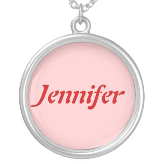 Name Template necklace