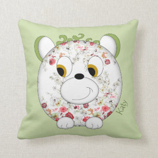 Name the Animal in 2 Colors for Children Throw Pillow