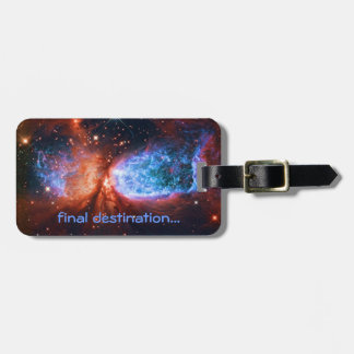 Name, The Swan, Constellation Cygnus deep space Tag For Luggage
