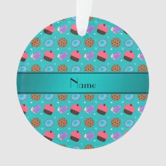 Name turquoise cupcake donuts cake cookies
