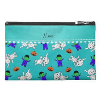 Name turquoise frankenstein mummy pumpkins travel accessories bags