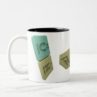 name-Un-U-N-Uranium-Nitrogen Two-Tone Coffee Mug