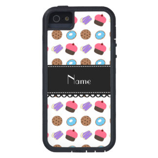 Name white cupcake donuts cake cookies cover for iPhone 5