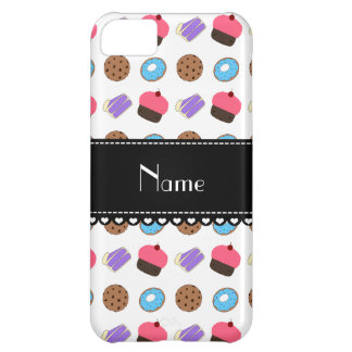 Name white cupcake donuts cake cookies iPhone 5C cases