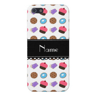 Name white cupcake donuts cake cookies covers for iPhone 5