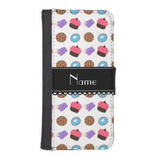 Name white cupcake donuts cake cookies phone wallet cases