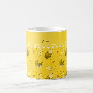 Name yellow rubberduck baby carriage coffee mug
