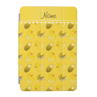 Name yellow rubberduck baby carriage iPad mini cover