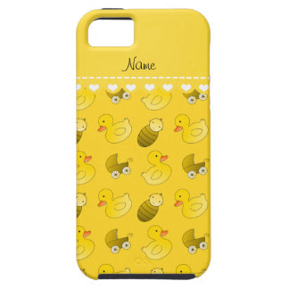Name yellow rubberduck baby carriage iPhone SE/5/5s case