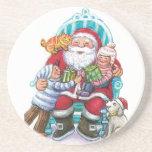 Name Your Coaster Santa Coasters