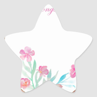 name your own thing star sticker