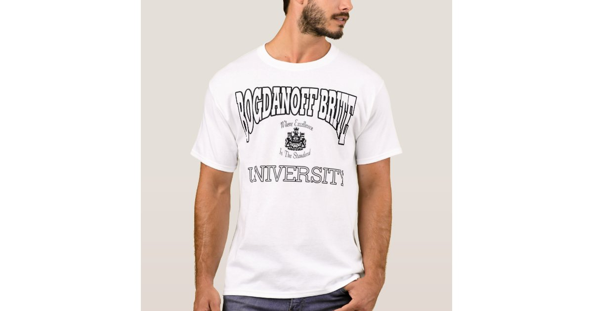Name your own university t shirt zazzle for University t shirts with your name