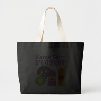 Name Your Poison Canvas Bag