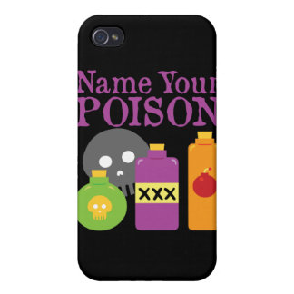 Name Your Poison Covers For iPhone 4