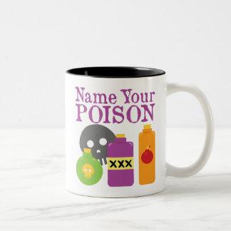 Name Your Poison Mug