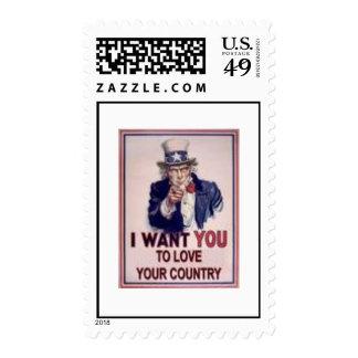 Name Your Postage Patriotic