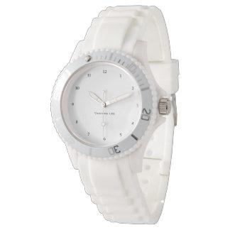 Name Your Sporty White Wrist Watch