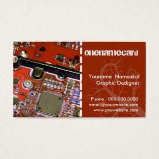 namecard-0011 / Technology / computer Business Card