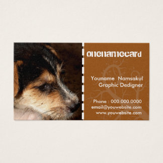 namecard-0014 / dog   small business card