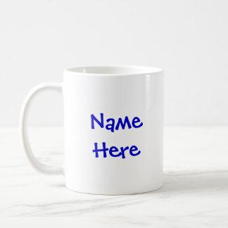 Named Carousel  Pony Mug