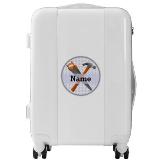 Named Personalized Tools design for boys. Luggage
