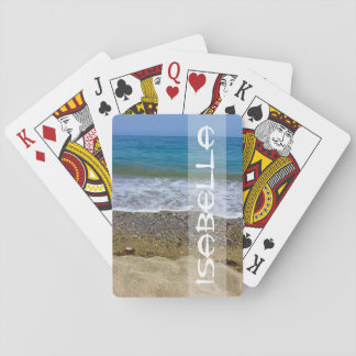 Named Sea landscape Playing Cards