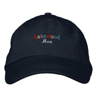 Namedrop la mamá de Nation_Lakewood multicolora Gorra De Beisbol