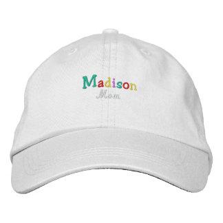 Namedrop la mamá de Nation_Madison multicolora Gorra De Béisbol Bordada