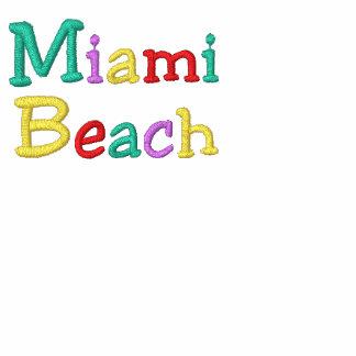 Namedrop la playa de Nation_Miami multicolora