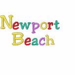 Namedrop la playa de Nation_Newport multicolora Sudadera Con Serigrafía