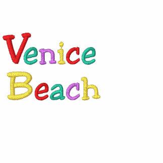 Namedrop la playa de Nation_Venice multicolora Sudadera Bordada Con Capucha