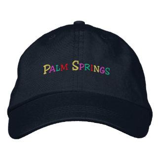 namedrop las primaveras de Nation_Palm multicolora Gorra De Béisbol