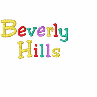 Namedrop Nation_Beverly Hills Multi-colored Embroidered Hoody