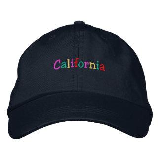 Namedrop Nation_California multicolor Gorra Bordada