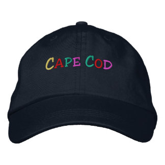 Namedrop Nation_Cape Cod multi-colored Embroidered Baseball Hat