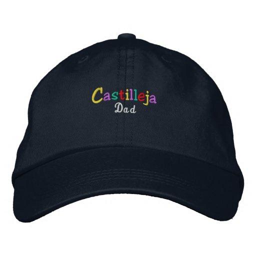 Namedrop Nation_Castilleja Dad Multi-colored Embroidered Baseball Cap