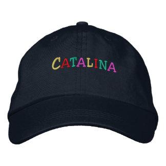 Namedrop Nation_Catalina multicolor Gorra De Béisbol Bordada