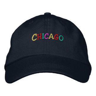 Namedrop Nation_Chicago multicolored Embroidered Baseball Cap