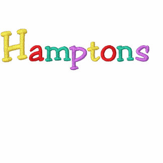 Namedrop Nation_Hamptons Multi-colored Embroidered Hooded Sweatshirt
