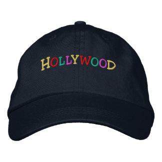 Namedrop Nation_Hollywood multicolor Gorra De Beisbol Bordada