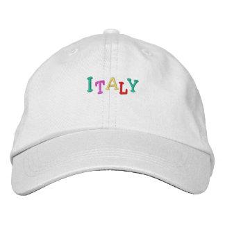 Namedrop Nation_Italy multicolor Gorra De Beisbol Bordada
