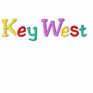 Namedrop Nation_Key al oeste multicolor Sudadera Bordada Con Serigrafía