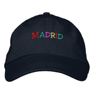 Namedrop Nation_Madrid multicolor Gorras De Béisbol Bordadas