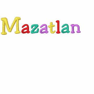 Namedrop Nation_Mazatlan Multi-colored Embroidered Hoody