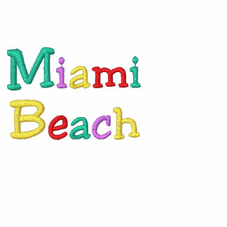 Namedrop Nation_Miami Beach Multicolored Hoodies