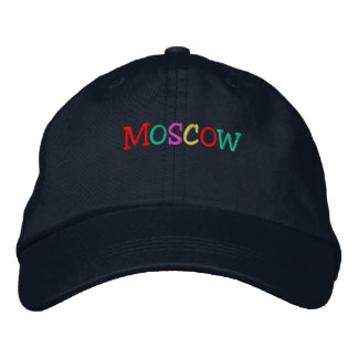 Namedrop Nation_Moscow multi-colored Embroidered Baseball Cap